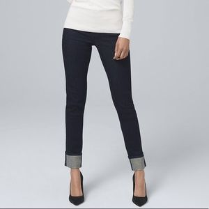 WHBM Slim Ankle Jeans, Size 4